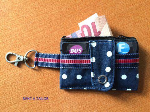 Die kleine Geldbörse für unterwegs | Nähen | Pinterest | Kleine ...