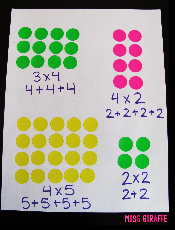How To Teach Arrays Teaching Multiplication Math Activities Math Methods