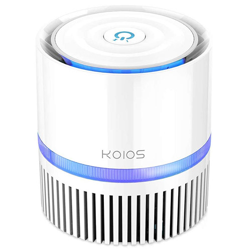 KOIOS Air Purifier, Indoor Air Cleaner with 3in1 True