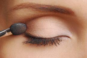 Tolles Augen Make-up: 4 Schritte: Lidschatten richtig auftragen #makeuptips