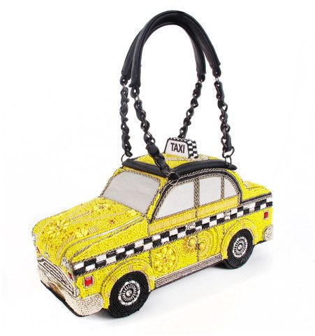uk availability 48590 38215 Taxi - Beaded Yellow Cab Purse - David Dalrymple for House ...