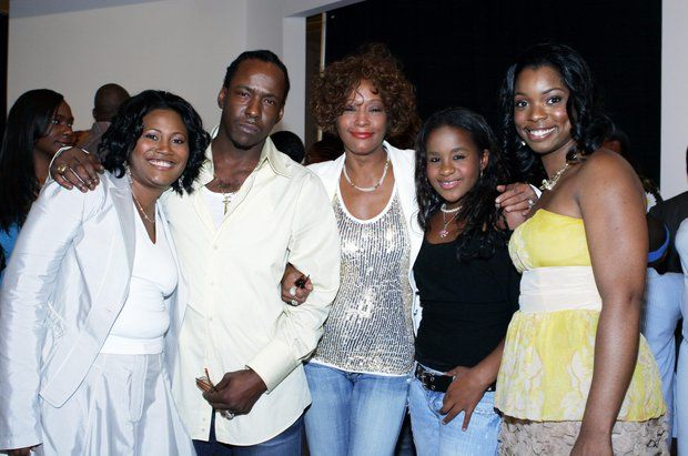 Young Bobby Brown And Whitney