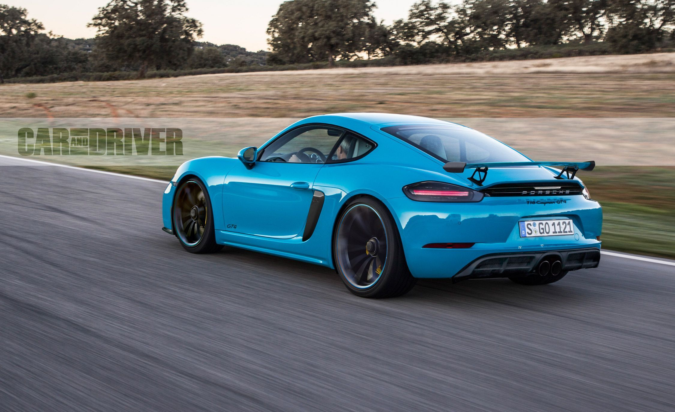 The 2019 Porsche Cayman First Drive New Car Review