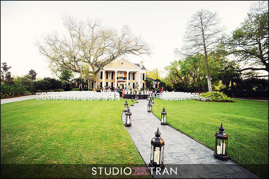 Our venue. Southern Oaks Plantation New Orleans Louisiana
