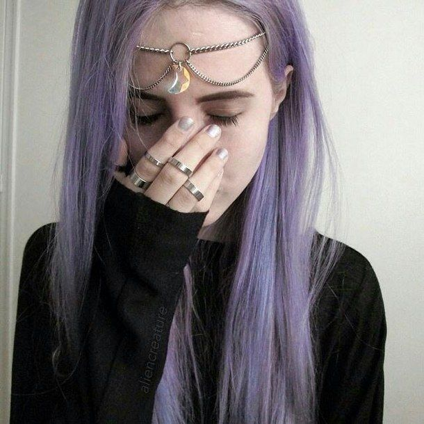 Výsledok vyhľadávania obrázkov pre dopyt purple hair tumblr