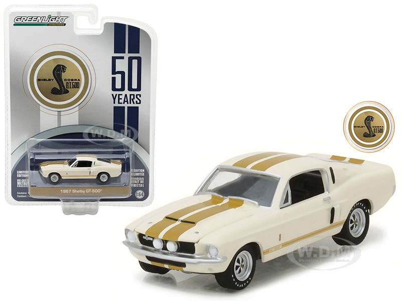 1:64 Scale. Hot Wheels 5 Car Gift Pack Mustang 50th Anniversary Edition