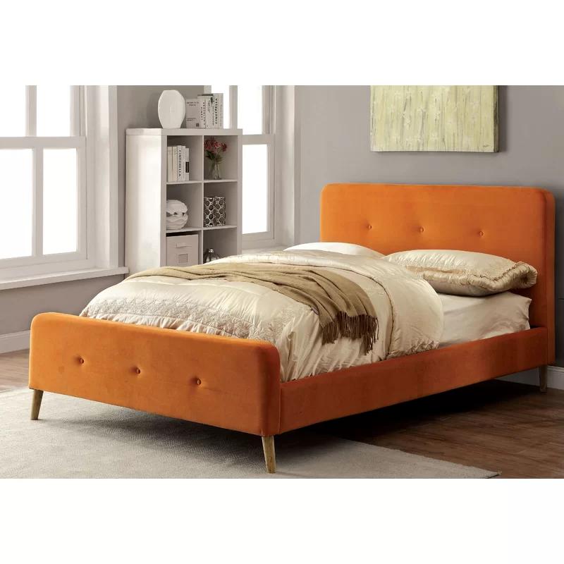Best Mica Upholstered Platform Bed Reviews Allmodern 640 x 480