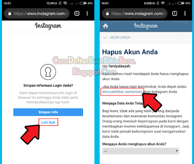 Yang Cari Cara Menghapus Akun Instagram Permanen Atau Menonaktifkan Ig Sementara Langsung Aja Lewat Web Resminya Bagaimana Sele Instagram Persandian Penghapus