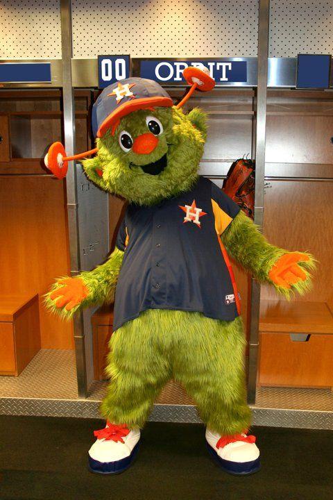 Astros Mascot >> Houston Astros Mascot Orbit Houston Astros Astros Mascot