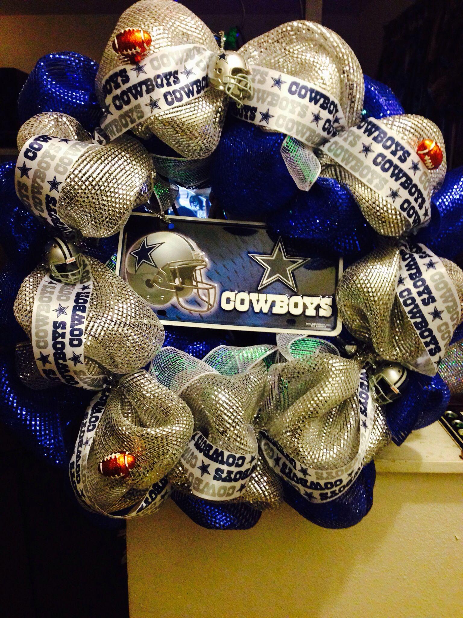Dallas wreath Diy and crafts, Cowboys, Crafts