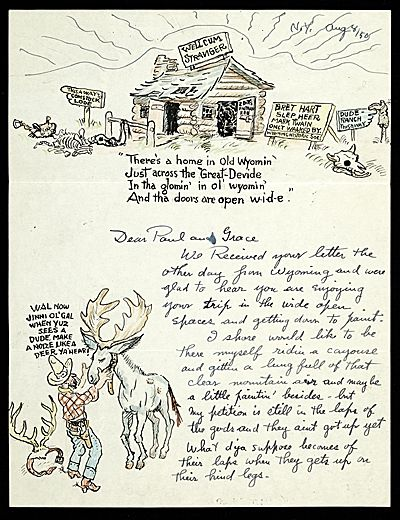 More Than Words Illustrated Letters From The Smithsonian S Archives Of American Art Exhibitions Handwritten Letters Letter Of Encouragement Illustration
