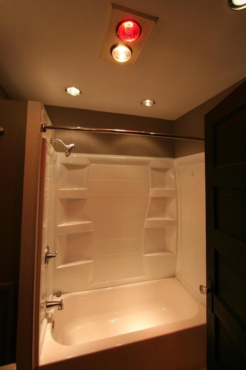 Bad Wärme Lampe Licht Leuchte #Badezimmer