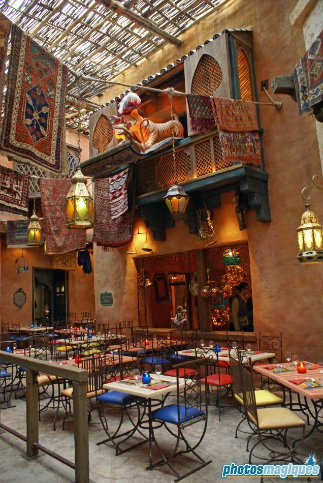 Agrabah Cafe Restaurant Photos Magiques Disney Paris Disneyland Disneyland Paris