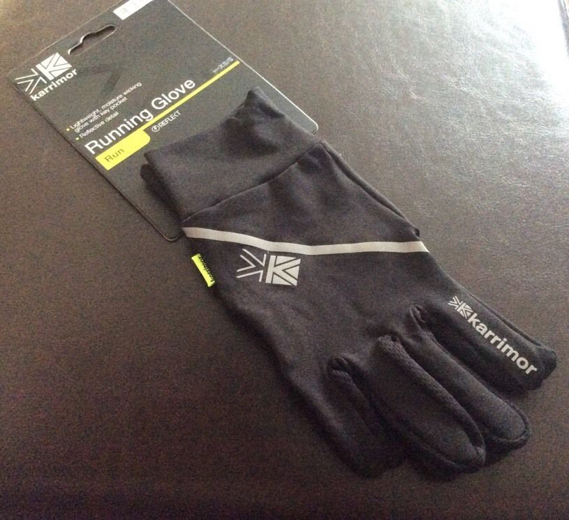 Nike Gloves Key Pocket: Karrimor Mens Running Jogging Gloves With Key Pocket Black