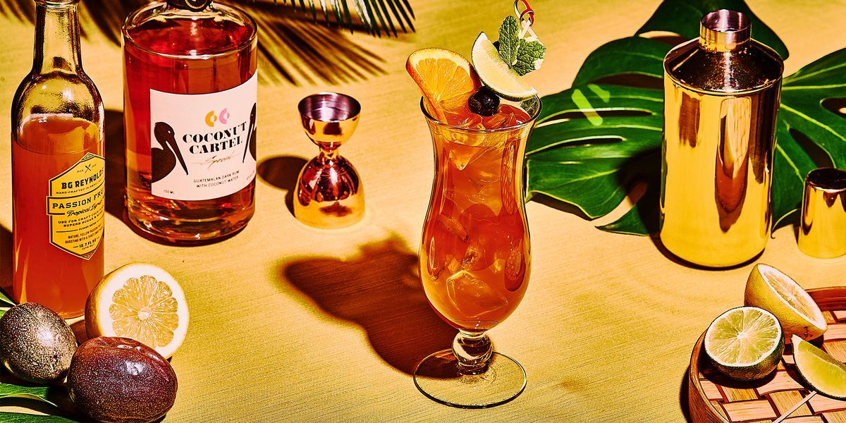 How To Make A Hurricane Recipe Passion Fruit Syrup