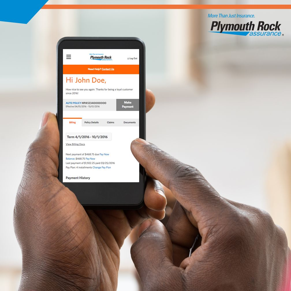 Managing your insurance policy online is now easier than