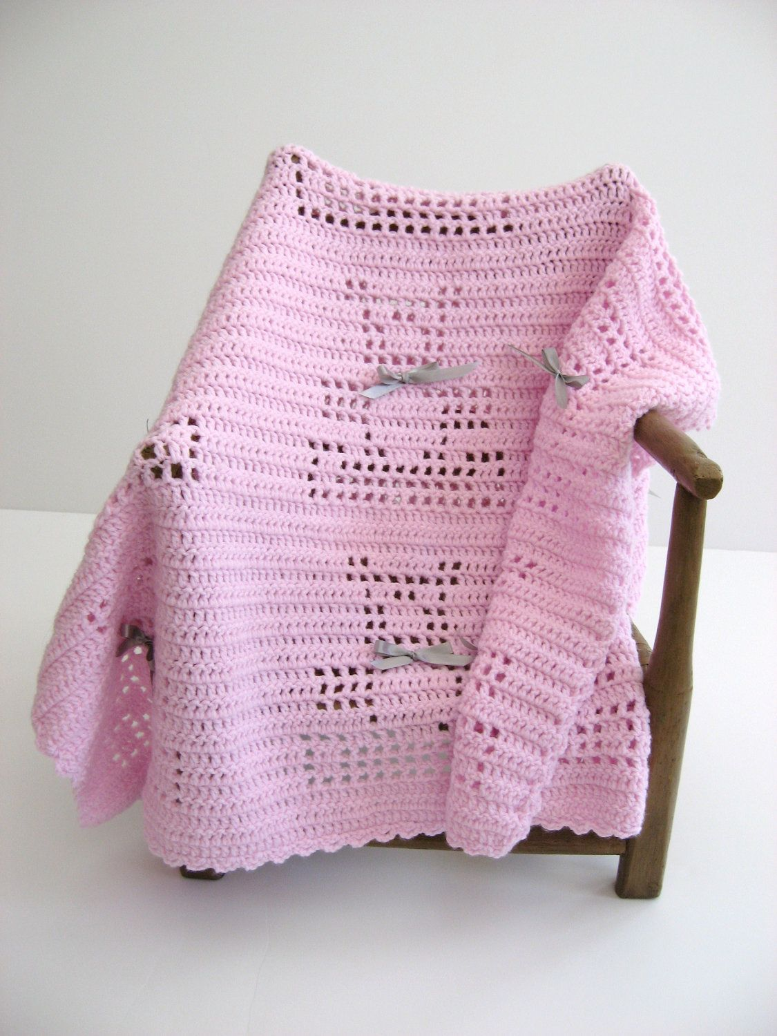 My favorite afghan pattern! I have crocheted this so many times in different colors and really like it!