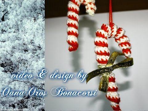 Come fare bastoncino di zucchero a uncinetto spiegazioni for Idee creative uncinetto