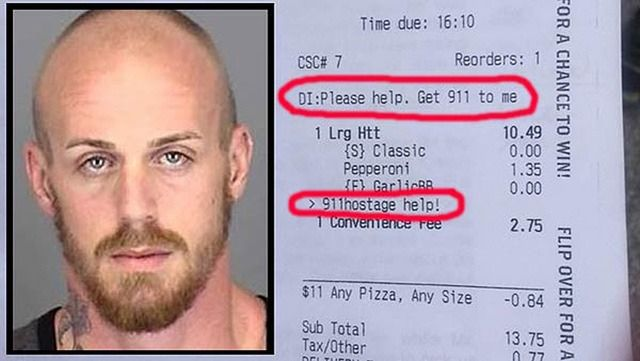 Hostage Rescued After Sending Message for Help via Pizza Hut App [Video] - http://iClarified.com/48994 - A woman used the Pizza Hut app on Monday to send a message for help after being held hostage at knifepoint by her boyfriend.
