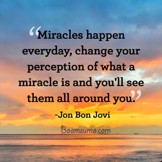 Best Inspirational Quotes 'Miracles Happen Everyday Daily Delectable Daily Motivational Quote