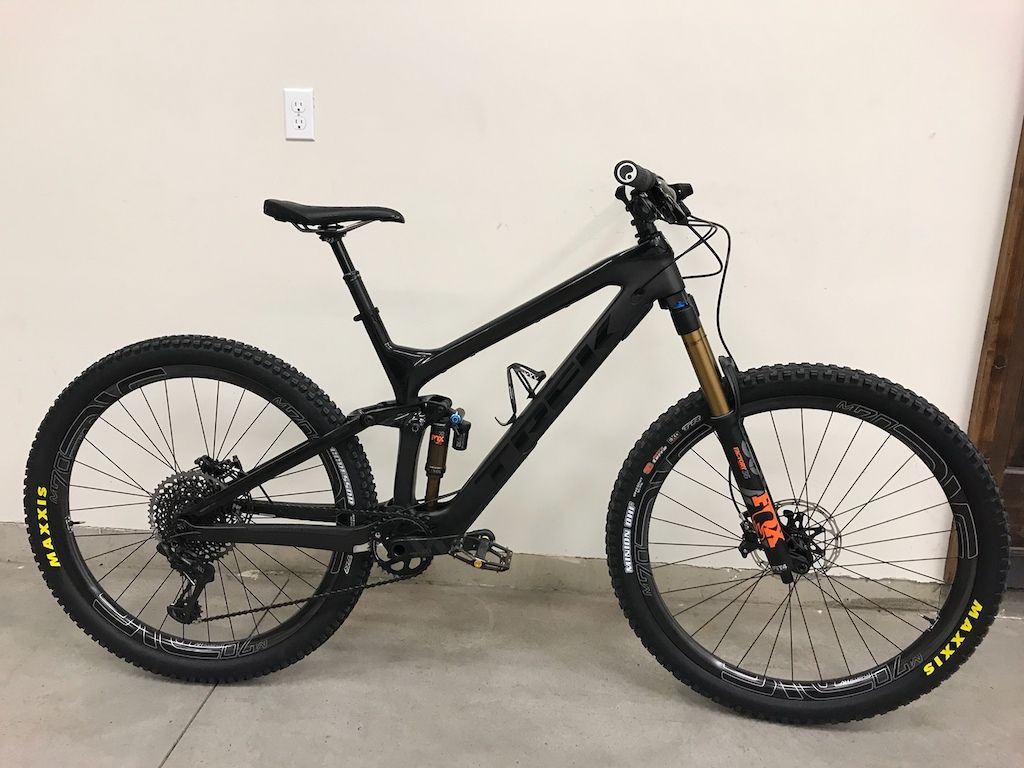 2017 Trek Slash 9 85 Custom Mountian Bike Moutain Bike Bike Seat