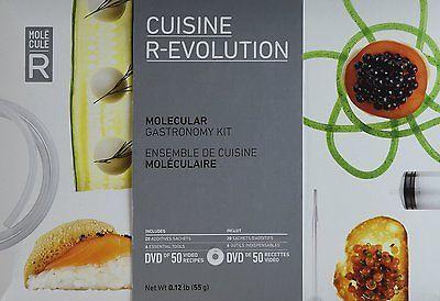 Molecule-r cuisine r-evolution kit cook kitchen #experiment ...