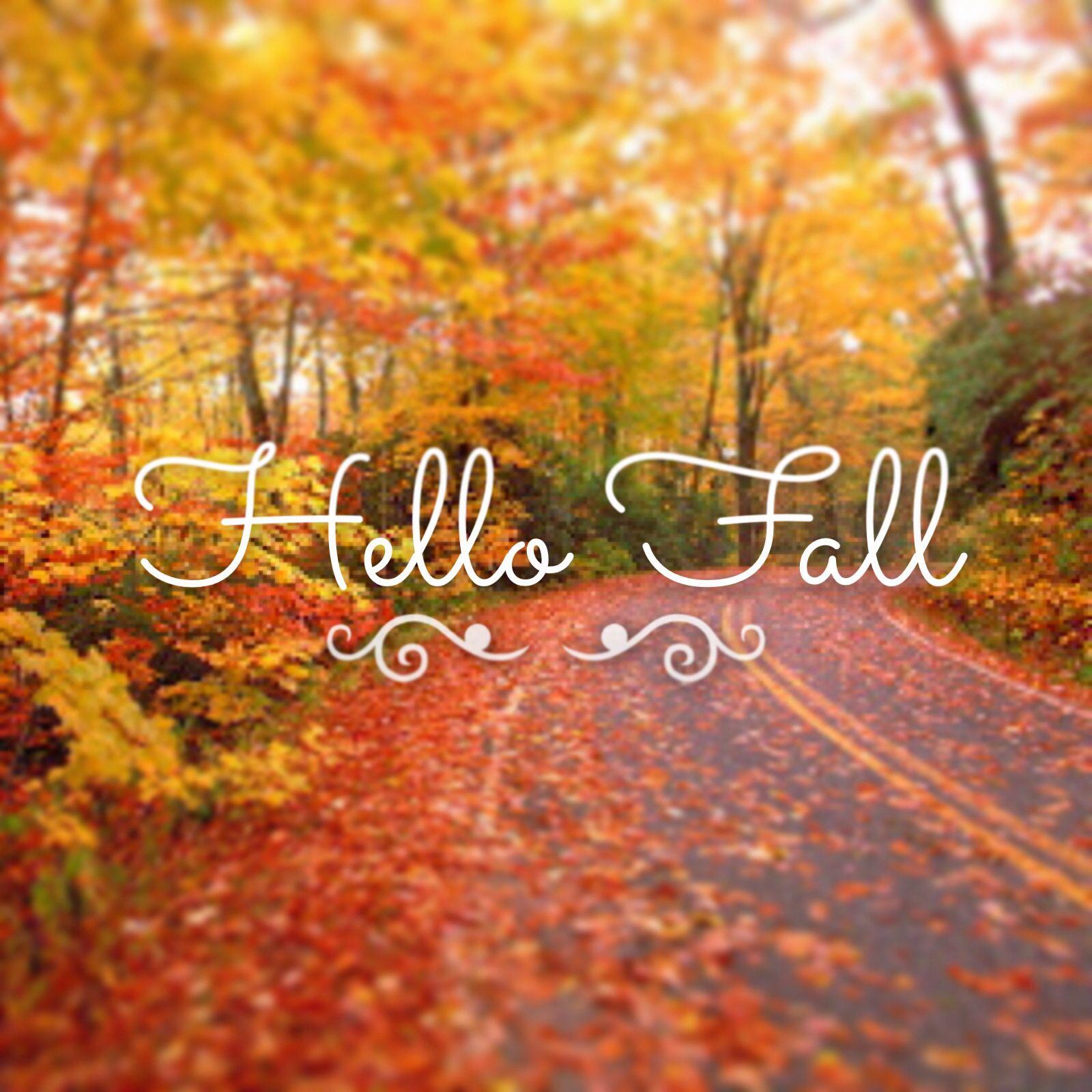 Fall Fashion Quotes: Hello Fall :) #fall #autumn