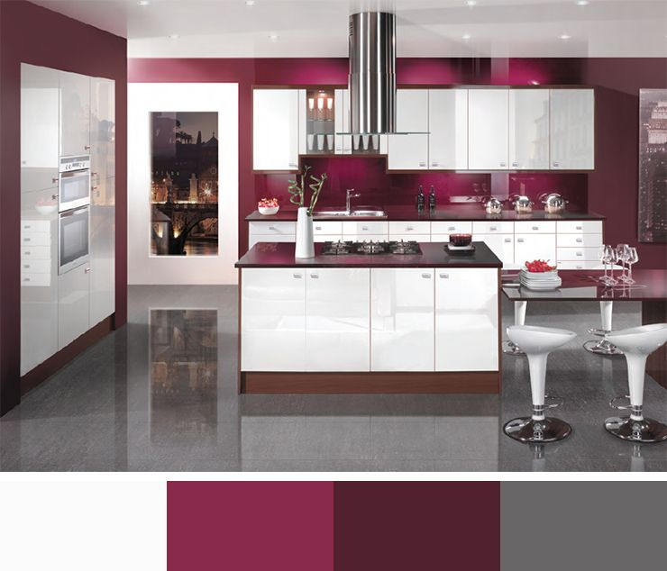 Perfect interior colors interior color schemes interior for White kitchen colour schemes