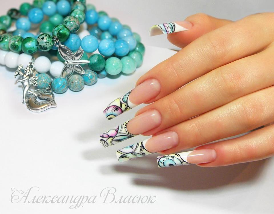 Magnetic Nail Design - Nails by Olexandra Vlasiuk | Pinterest - Nagel