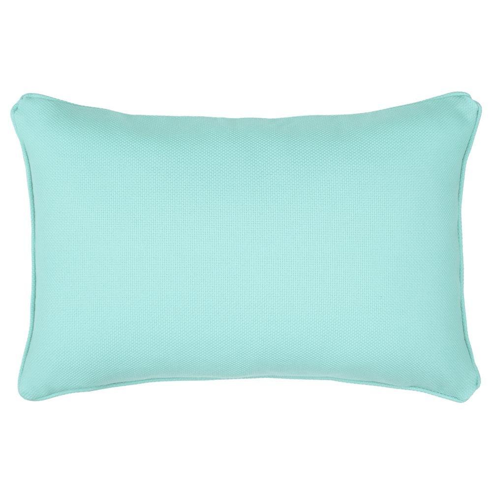 Matuka collection turquoise outdoor lumbar pillowdecorative
