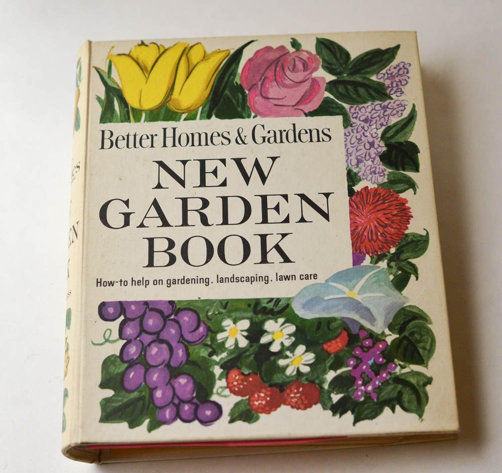 Garden Book Better Homes And Gardens New Garden Book 1961