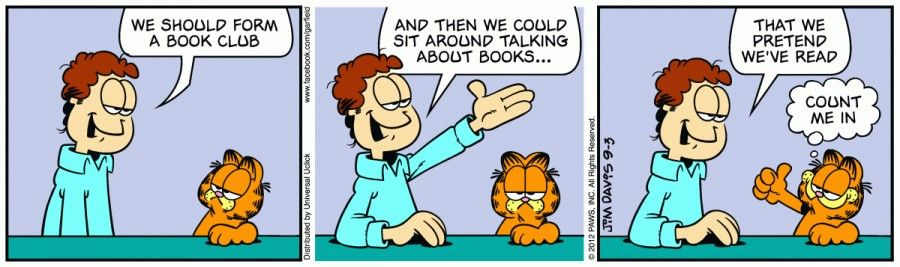Garfield Friends The Garfield Daily Comic Strip For September