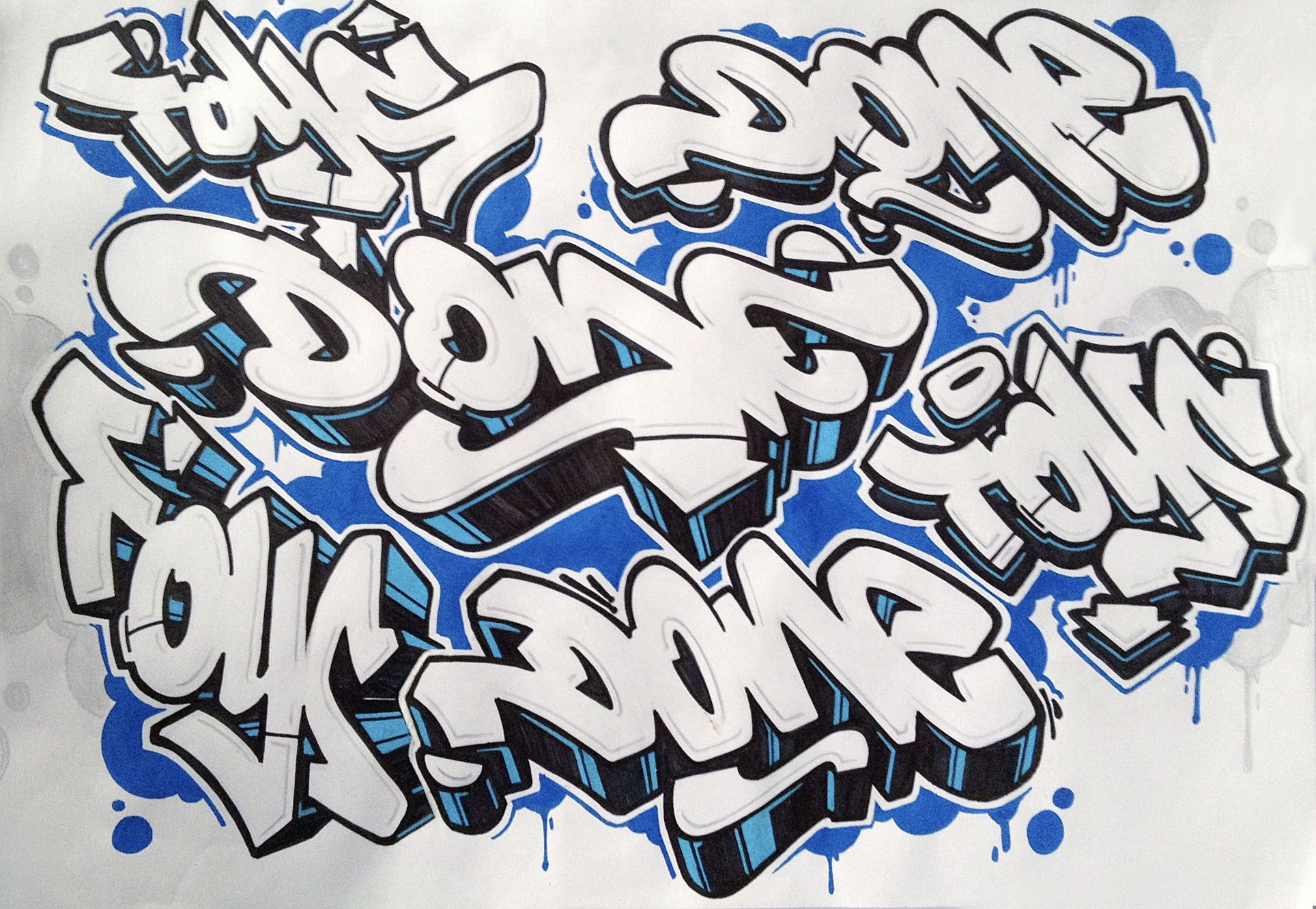 Doodling | Handlettering, Graffiti und Skizzen