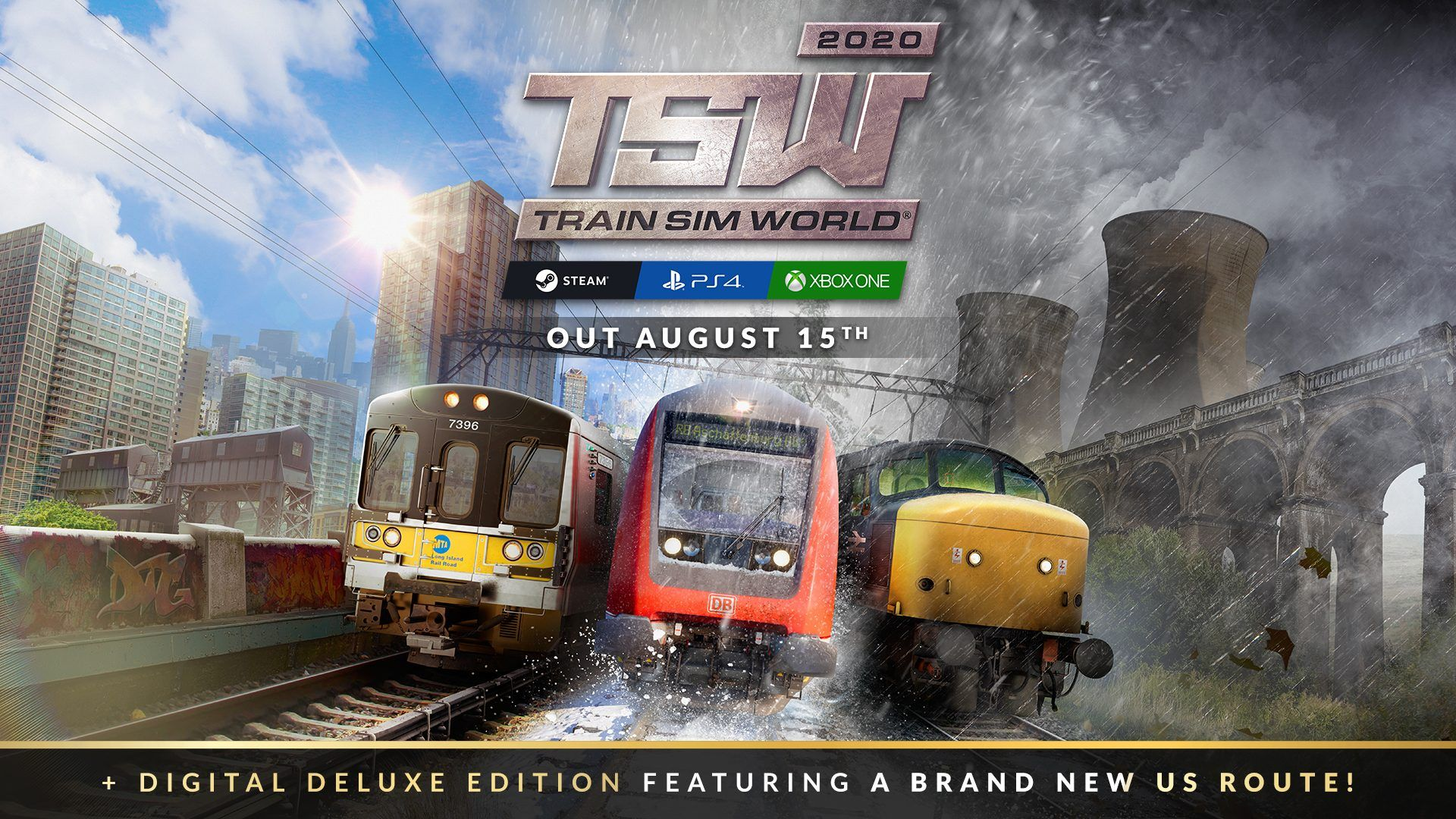 Games Coming Out In August 2020.Start A New Journey Train Sim World 2020 Is Coming To