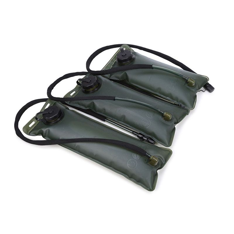 1L Foldable Drinking Water Bag Pouch Bladder for Outdoor Camping Hiking BBQ