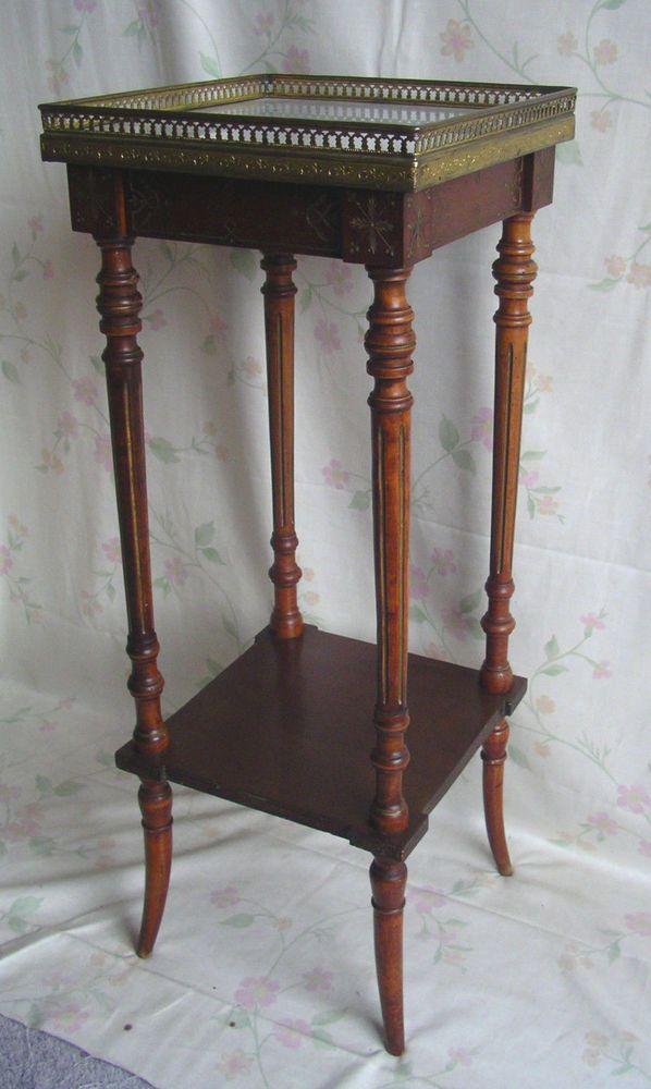 Frankreich 2. Empire Tisch Beistelltisch Blumentisch Edelholz ...