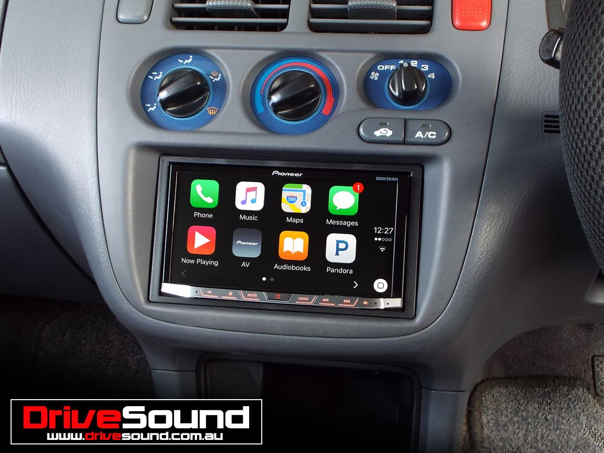 Honda HRV with Apple CarPlay installed by DriveSound