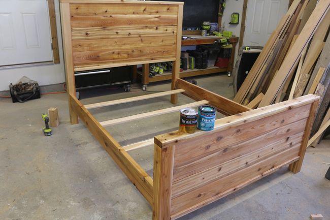 How To Make A Bed Frame Free Bed Frame Plans Bed Frame Plans