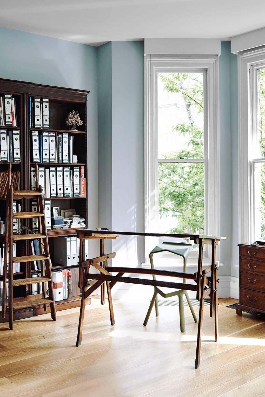 Charles rutherfoords elegant london house house garden office interior design office interiors