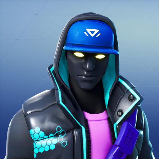 Cryptic Fortnite, Rare, Skin