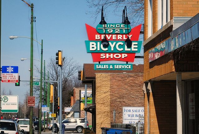Beverly Bicycle Shop Chicago city, Chicago neighborhoods