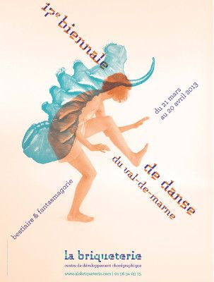 Affiche 17° Biennale Atelier Pierre di Sciullo avec Maud Guerche