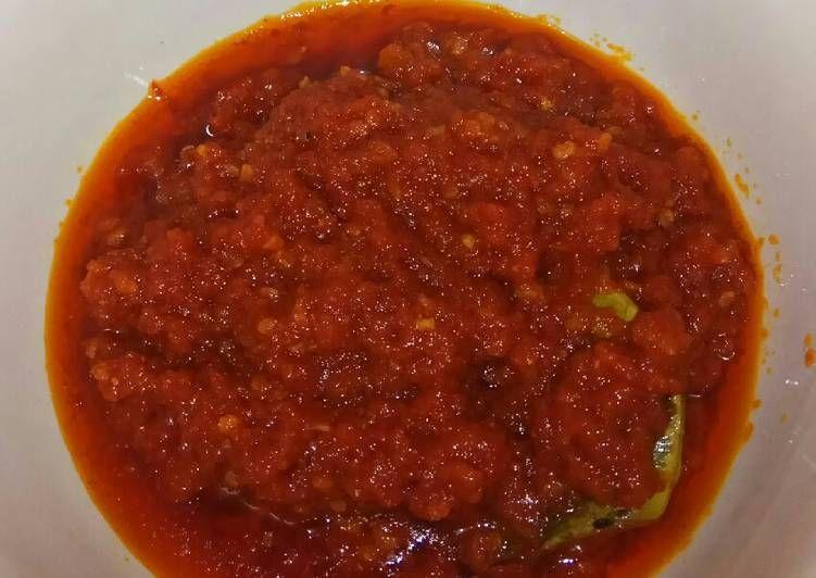 Resep Sambal Nasi Uduk Oleh Cicy Minoz Resep Resep Makanan Resep Masakan Makanan