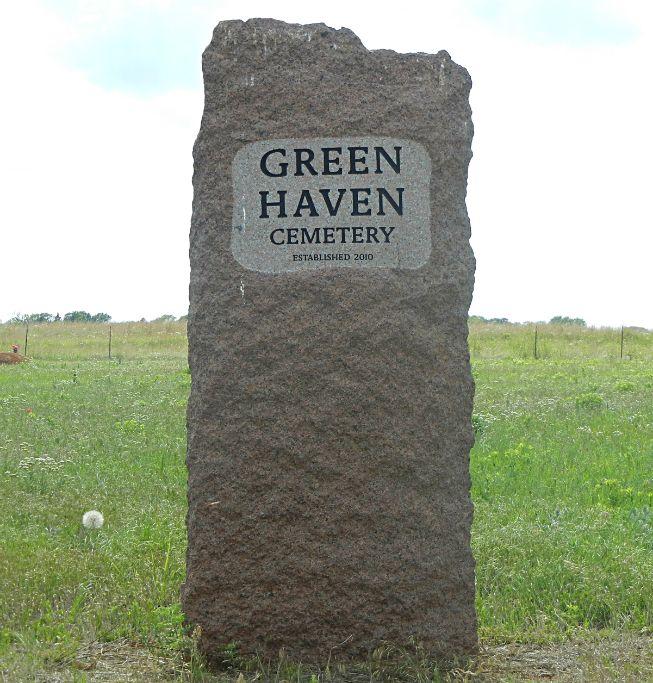 Stillwater Ok Green Haven Cemetery Marker Still Water Cemetery Historical Marker