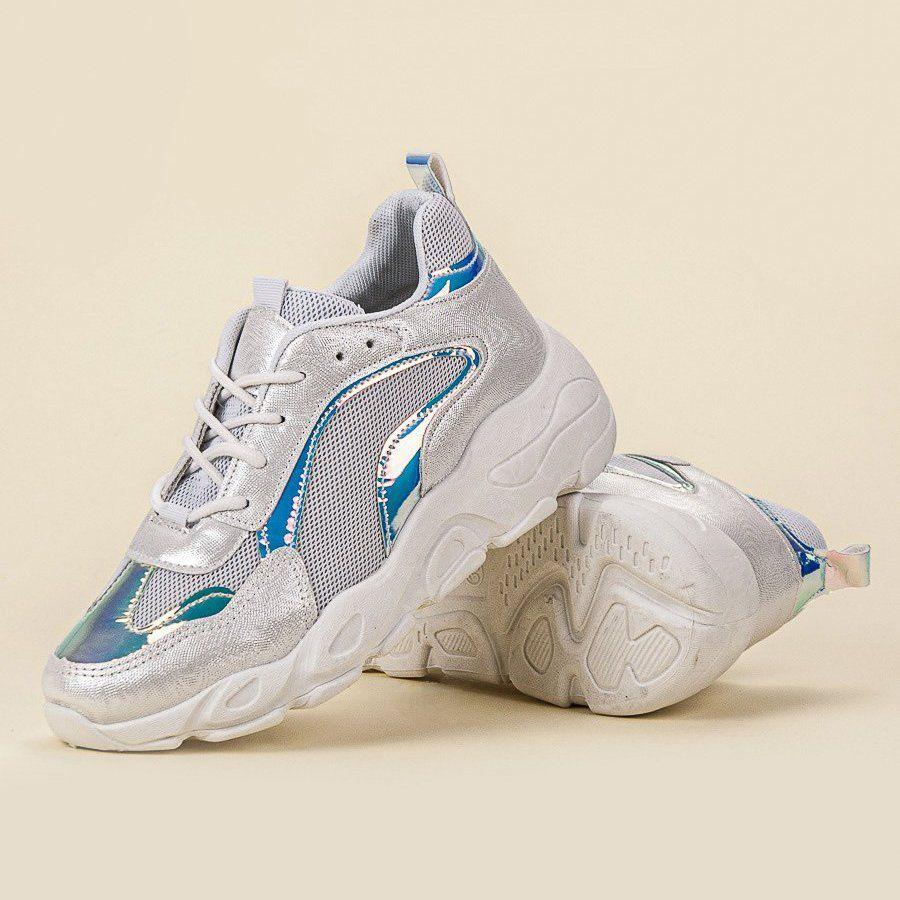 Shelovet Modne Buty Sportowe Szare Sports Footwear Sport Shoes Shoes