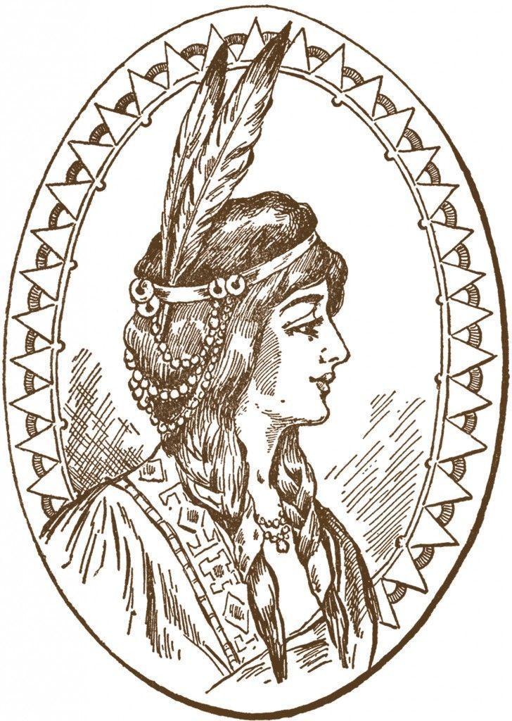 5 Native American Clipart Updated Native American Women Art Native American Women Native American Art