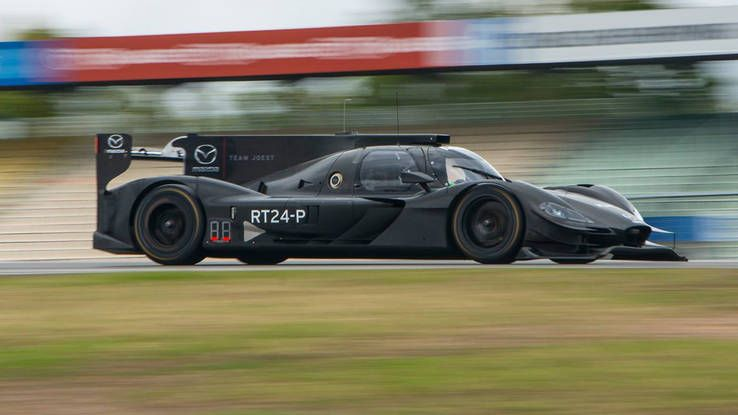 First On Track Photos: Mazda Team Joest Daytona Prototype International For  IMSA Tests At Hockenheim