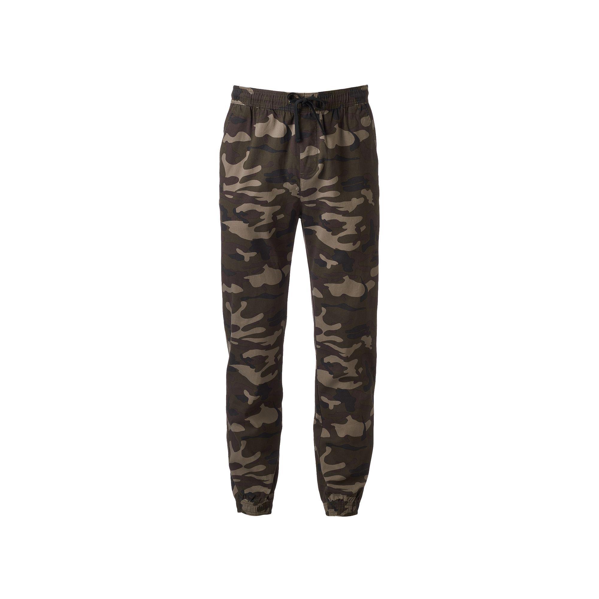 Men\'s Hollywood Jeans Camo Stretch Jogger Pants, Size: X Lrge M/R ...