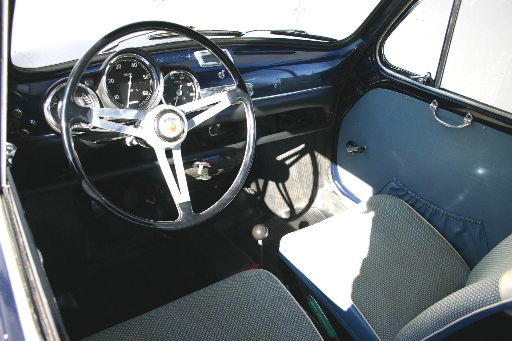 Abarth 850 Tc Nurburgring Con Imagenes Bianchi Interiores