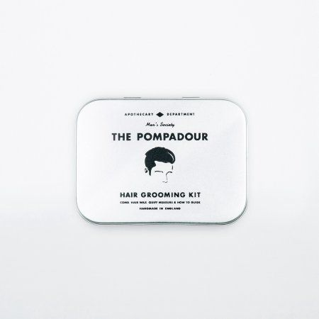 Men's Society - Men's Society Pompadour Hair Set - Walmart.com